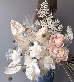 Dried Flower Bouquet, Dried Flowers, Floral Bouquets, Wedding Bouquets, Flower Decorations, Wedding Decorations, Bloom Baby, Dried Flower Arrangements, Bridal Flowers