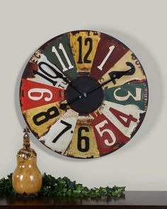 Funny. I just so happen to be looking for an oversized clock... might just have to get this.