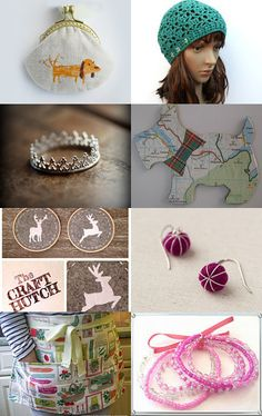 All I want for Christmas... by Jennifer McRae on Etsy--Pinned with TreasuryPin.com