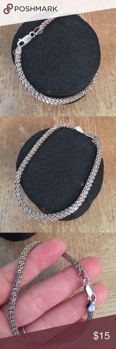Bracelet Sterling silver solid 925 Italy 🎁 Bracelet Sterling silver solid 925 Italy 🌺 Jewelry Bracelets