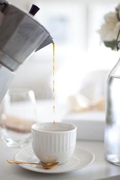 pour a cup.