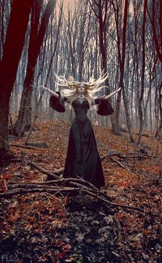 the lady of the woods is awake