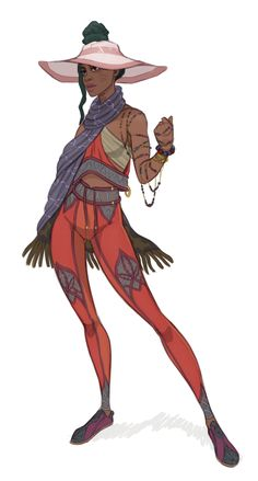 by Monte Miller/ Freemech Female Character Design, Character Design References, Character Design Inspiration, Character Concept, Character Art, Concept Art, Black Characters, Fantasy Characters, Female Characters