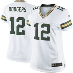 Nike Aaron Rodgers Green Bay Packers Womens The Limited Jersey - White