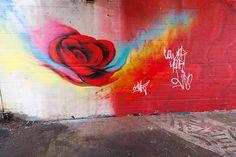 Graffiti Rivierenbuurt (NL) January 2013 art kunst streetart Groningen Grunn NL Nederland Photo by: Jascha Hoste