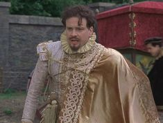 Shakespeare in Love (1998) Colin Firth as Lord Wessex (the opposite of mr Darcy) #CostumeDesign: Sandy Powell