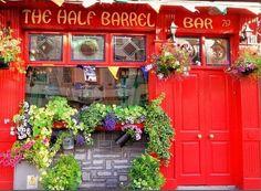 The Half Barrel Bar -Charming