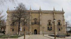 Palacio de Santa Cruz. Valladolid. Plateresco. De Lorenzo Vazquez de Segovia
