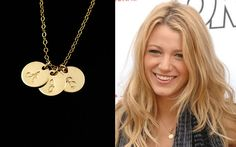 Monogram Necklace, Initial Necklace Gold Disc Necklace, Up to 7 Disc Charms 14k Gold, Personalised Jewellery . Mom Sister Best Friend Gifts on Etsy, $34.41 CAD