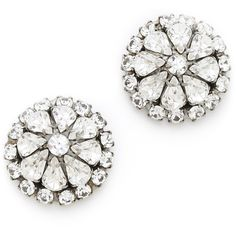 DANNIJO Phillipa Earrings ($194) ❤ liked on Polyvore