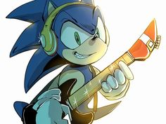 Sonic the Rockstar Hedgehog