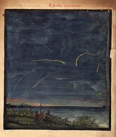 001-LLuvia de estrellas-Kometenbuch -1587-Universitätsbibliothek Kassel