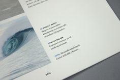 Watermag surfnews by Bjarke Nøhr Kristensen, via Behance