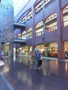 Stary Browar  -shopping center in Poznan in Poland