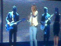 Celine Dion rocks the crowd!! Go Canada!!