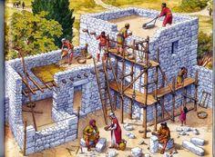 ARTESANÍA EN EL BELÉN: ARQUITECTURA HEBREA EN TIEMPOS DE JESUS