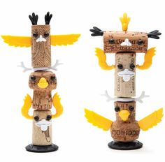 Corked Totem Crafts - The Monkey Business 'Corkers Totem Kit'