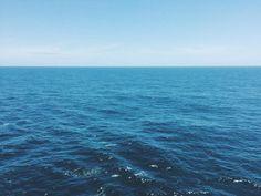 Vista do horizonte em alto mar - dicas de viagem navio - cruzeiro - blue - sea - travel blog - sereismo - sereia - azul - mar - oceano - trip - blogger - ocean