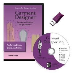 Cochenille Garment Designer is a pattern making software for sewing and knitting. Draft your patterns with custom measurements. Available for both Windows & Macintosh.