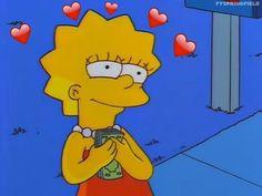 Lisa Simpson (The Simpsons) Cartoon Icons, Cartoon Memes, Cartoon Edits, Funny Cartoons, Simpson Tumblr, Hipster Vintage, Cartoon Profile Pictures, Disney Instagram, Tumblr Wallpaper
