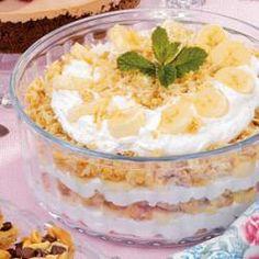 Banana Macaroon Trifle Allrecipes.com