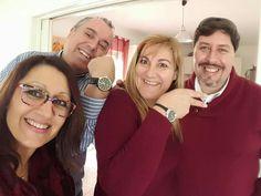 Mirar los relojes de la Baronesa Cesarina y el Barón Silvio estos son los regalos por alcanzar ese nivel. Tu también puedes tener el tuyo!!! Contactanos y te decimos como hacerlo o registrate aquí http://escritorio.bbommais.com.br/anabelycarlos #anabelycarlos #bbommais #libertadtotal