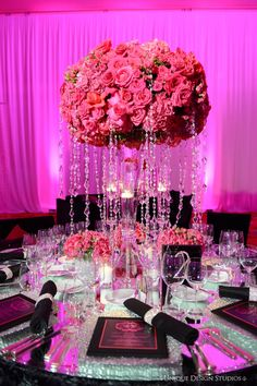 Tiffany Cook Events: OMG Las Vegas Wedding Reception Designed by Platinum Weddings Designer Tiffany Cook