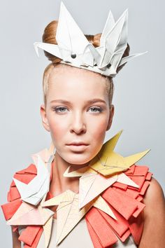 Accessories: Dorrith de Roode & Marlous de Roode, Photography: Michael Danker, Model: Jamie Santpoort, Hair / Make-up: Charlotte Mailhe