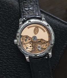 970eb06811d3d 1300.3 manual-winding automatic F. P. Journe Octa Automatique 38 mm steel  limited edition dress watch