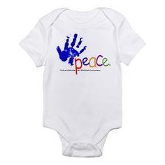 Peace Fund Infant Bodysuit Buy this great item today from our Merchandise range and help a child tomorrow.    http://www.thepeacefund.org
