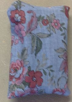 "Red and Pink Flower Fabric ""Handmade"" Pocket Tissue Cover, Mother's day gift #Fabric"