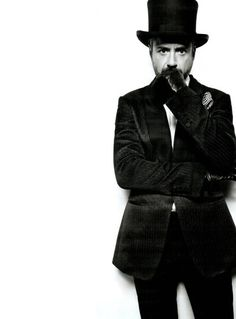 Robert in a Tophat