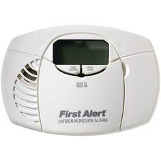 First Alert Battery-powered Carbon Monoxide Alarm (digital Display)