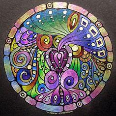Mandala 24 Feb 2012 by Artwyrd on deviantART