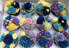 buttercream flower bouquets
