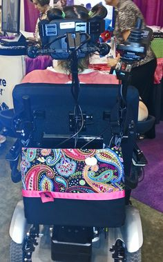 7c4e2f0f779 Most powerchairs offer very few places to simply hang a bag, but an HDS  Medallion