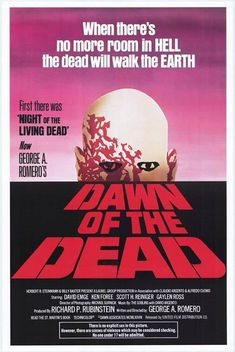 Dawn of the Dead (1978) Following an ever-growing epidemic of zombies that have risen from the dead, two Philadelphia S.W.A.T. team members, a traffic reporter, and his television executive girlfriend seek refuge in a secluded shopping mall. All Poster, Poster Prints, Movie Posters, Monroeville Mall, The Dead Movie, George Romero, Walk The Earth, Night Live, Book Tv