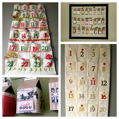 4  Advent Calendars -  Hi Folks! My craft fair circuit is over for the year, I'm jumping for joy right now as I need a week to relax my brain, and my glue gun burnt/ stick pin pricked fingers for a week before Holiday catering season gets into full swing! I attended the Somerset Craft fair yesterday and what a great day!  I …