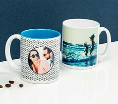 *Produits photo personnalisés et développement photo en ligne - PhotoBox Photobox, Mugs, Tableware, Photo Online, Personalised Gifts, Flower, Canvas, Products, Dinnerware
