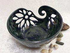 GARNSCHALE / YARN BOWL / OBSTSCHALE aus Keramik von Keramik-Atelier Rossa - Schönes aus Keramik auf DaWanda.com