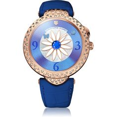 Christophe Claret Marguerite Sapphire and Diamonds Red Gold Red Gold, White Gold, Madame Butterfly, Latest Watches, International Jewelry, Green Agate, Colored Highlights, Jewelry Trends, Color Trends