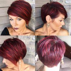 Beim Anschauen dieser 10 schönen Kurzhaarschnitte bekommst Du sicherlich Lust auf einen neuen Look! - Neue Frisur