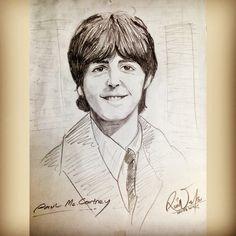 Mr.Legend #PaulMcCartney #TheBeatles #band #legend #music #Artwork #sketch #drawing