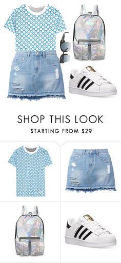 """""""Untitled #552"""" by farrahaqs on Polyvore featuring Miu Miu, Steve J & Yoni P, adidas and Tom Ford"""