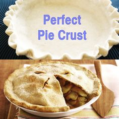 Want a perfect pie crust every time? This recipe is a no fail recipe for all your pies and other savory dishes.