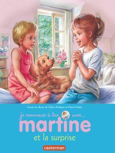 Je commence à lire - Martine et la surprise - Gilbert Delahaye - Marcel Marlier - CastermanJeunesse