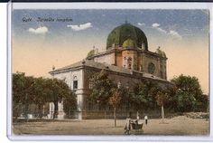 Gyor Hungary Synagogue Jewish scan0654 | Flickr – Compartilhamento de fotos! Taj Mahal, Building, Roots, Gypsy, Painting, Travel, Hungary, Viajes, Buildings