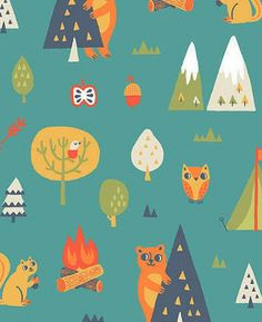 print & pattern: FABRICS - allison cole