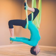 Aerial Yoga Hammock Complete At - Home Silk!