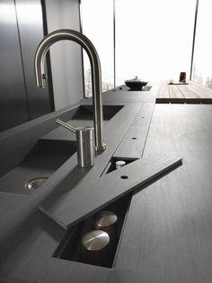 Modern kitchen sinks, my kitchen rules, new kitchen, kitchen dining, ki Kitchen Sink Lighting, Kitchen Sink Decor, Corner Sink Kitchen, Modern Kitchen Sinks, White Kitchen Sink, Kitchen Sink Design, Farmhouse Sink Kitchen, Modern Kitchen Design, Kitchen Interior